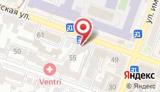 Гостиница Ностальжи на карте