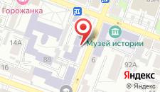 Отель Ирбис на карте