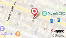 Гостевой дом Равда на карте