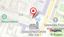 Отель Лира на карте