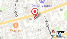Гостиница Барин на карте