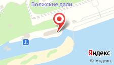 Санаторий Волжские Дали на карте