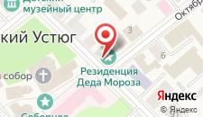 Гостиница Рождественская на карте