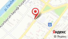 Хостел Гянджа на карте