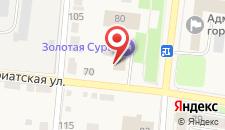 Гостиница Золотая Сура на карте