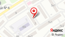Отель Дежавю на карте