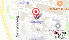 Гостиница Эльбрус на карте