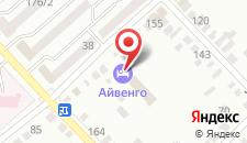 Отель Айвенго на карте