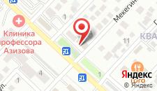 Отель Капитал на карте