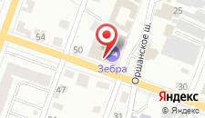 Мотель На Водопроводной на карте