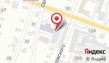 Гостиница Барселона на карте