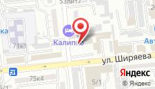 Гостиница Калипсо на карте