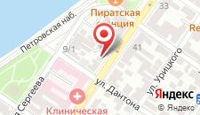 Отель Лотус на карте