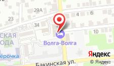 Гостиница Волга-Волга на карте