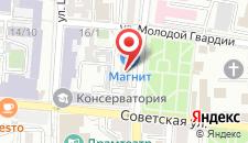 Хостел Gabzov на карте