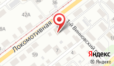 Гостиница Клеопатра на карте