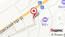 Гостиница М5+ на карте