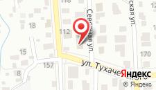 Гостиница Северная на карте