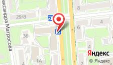 Отель Волга на карте