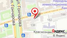 Отель Hilton Garden Inn Ulyanovsk на карте