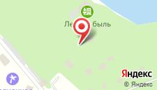 Гостиница Лесная быль на карте
