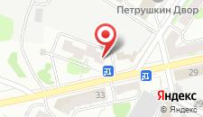 Хостел Кировский на карте