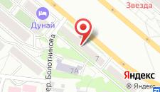Мини-отель Дунай на карте