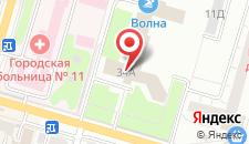 Отель Профилакторий КМПО на карте