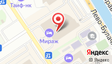 Отель Мираж на карте