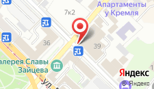 Отель Ramada Kazan City Centre на карте