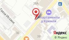 Отель Бэхет на карте