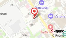 Хостел На Нариманова на карте