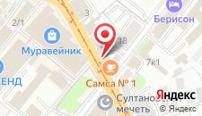 Хостел Навигатор на Тукая на карте