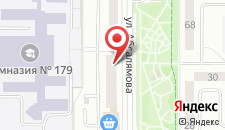Семейный отель На Абсалямова 29 на карте