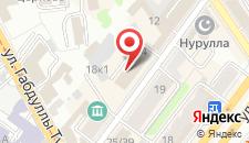 Гостиница Акспай на карте
