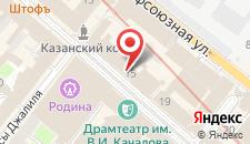 Хостел Навигатор на карте