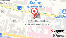 Хостел Сарацин на карте
