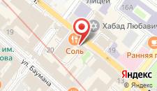 Мини-отель На Профсоюзной на карте
