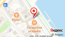 Гостиница Татарская Усадьба на карте