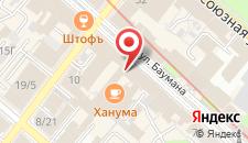 Гостиница Казанское подворье на карте