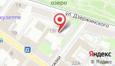 Гостиница Рахат на карте