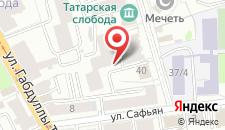 Гостиница Сафьянъ на карте