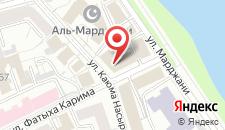 Отель Старый город на карте