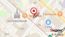 Гостиница Регина Университетская на карте