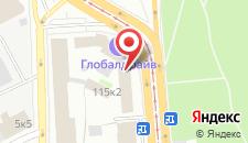 Хостел Казанский Скворечник на карте