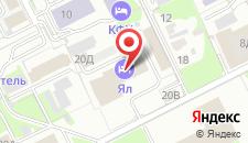 Гостиница Ял на карте
