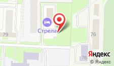 Отель Стрела на карте