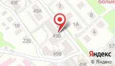 Гостевой дом На Ершова 49б на карте