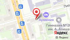 Гостиница Армения на карте