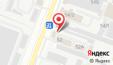 Гостиница ВояжЪ на карте